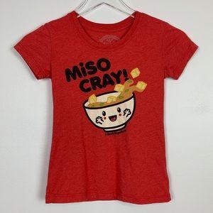David & Goliath Miso Cray Tee sz M Girls